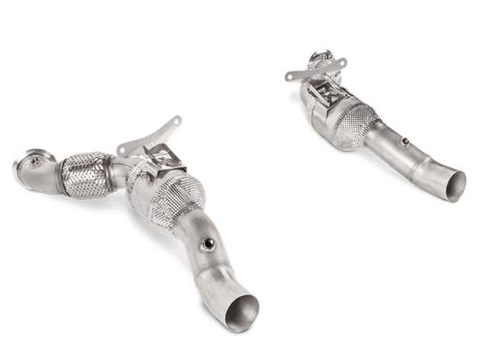 Image of Akrapovic Link Pipe für Ferrari 488 GTB F142 3.9 670ps