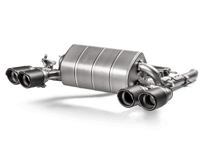 Image of Akrapovic Carbon für BMW M2 F87 3.0i Competition 411ps