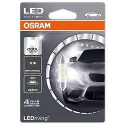 Leds Osram LEDriving C5W Cool White 36mm 1W 6000K