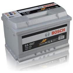 Autobatterie Bosch S5 007 77Ah