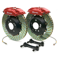 Kit Gros Freins Brembo 4 Pistons Rouge