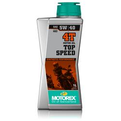 Motorex Top Speed 5W40 Motoröl 4T 1L