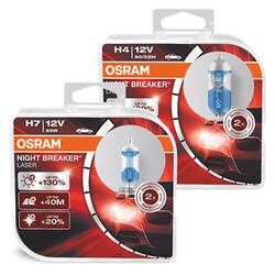 Ampoules Hallogènes Osram Night Breaker Laser