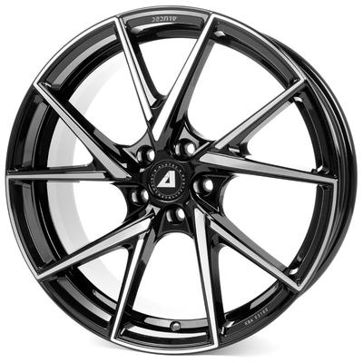 Alutec ADX.01 - diamant schwarz frontpoliert