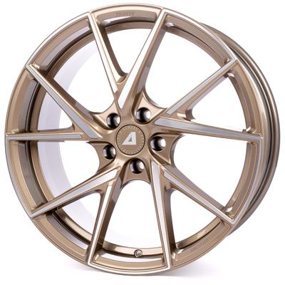 Alutec ADX.01 - metallic bronze frontpoliert