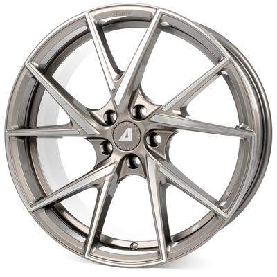 Alutec ADX.01 - metallic platinum frontpoliert