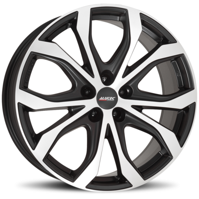 Alutec W10X - racing schwarz frontpoliert