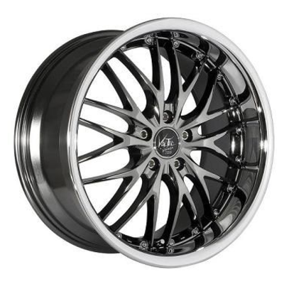 Barracuda Voltec T6 - Black-Chrome/Inox-Lip