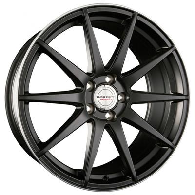 Borbet GTX - Black Rim Polished Matt
