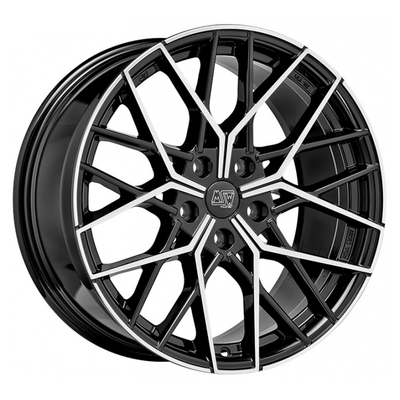 MSW 74 - GLOSS BLACK FULL POLISHED