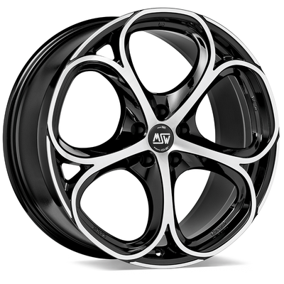 MSW 82 - GLOSS BLACK FULL POLISHED