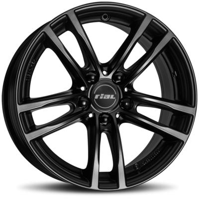 Rial X10X - racing schwarz