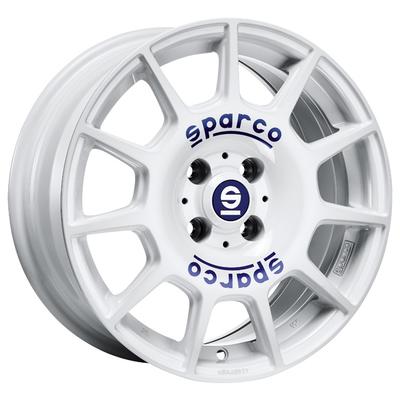 Sparco Terra - WHITE BLUE LETTERING